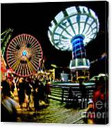 Wildwood Is A Happy Place Canvas Print