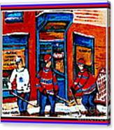 Wilenskys Hockey Art Posters Prints Cards Originals Commission Montreal Paintings Contact C Spandau Canvas Print