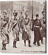 Wilhelm II & Sons Canvas Print