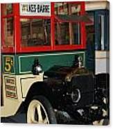 Wilkes Barre Bus   # Canvas Print