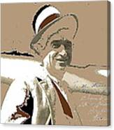 Will Rogers Informal Portrait Unknown Photographer Or Location 1924-2014  Canvas Print