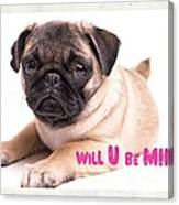 Will U Be Mine? Canvas Print