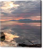 Willard Bay Canvas Print