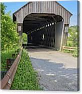 Willard Covered Bridge North Hartland Vermont Canvas Print