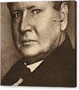 William B Canvas Print