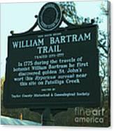 William Bartram Canvas Print