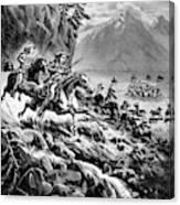 William F Canvas Print