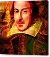William Shakespeare 20140122 Canvas Print