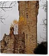 William Wallace Monument Scotland Canvas Print