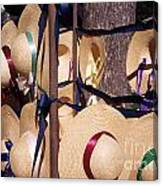 Williamsberg Hats Canvas Print