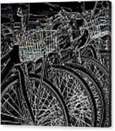 Williamsburg Bikes Canvas Print