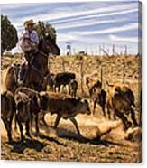 Williamson Valley Roundup 9 Canvas Print