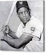 Willie Mays  Poster Canvas Print