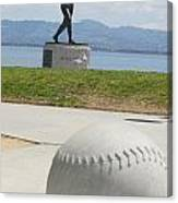 Willie Mccovey -- Giants 2014 World Champs Canvas Print