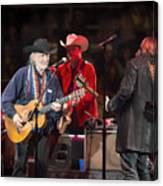 Willie Nelson - Live In Austin Canvas Print
