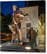 Austin Willie Nelson Statue Canvas Print