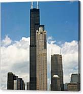 Willis Tower Aka Sears Tower Canvas Print