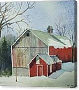 Williston Barn Canvas Print