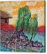 Willow Tree Isle Canvas Print