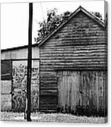 Willowbank Shed Canvas Print