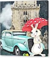 Willy The Wabbit Urrr I Mean Rabbit Canvas Print