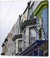 Wilmington Houses Canvas Print