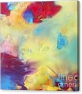 Wind Abstract Painting Canvas Print