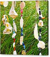 Wind Chimes At The Beach Canvas Print