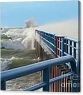 Wind-driven Lake Canvas Print