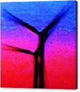 Wind Energy Abstract Canvas Print