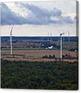 Wind Energy Panorama Canvas Print