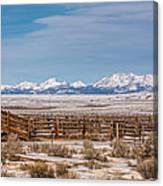 Wind Rivers Canvas Print