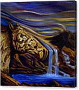 Wind Runner Canvas Print