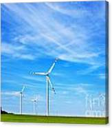 Wind Turbines Farm Canvas Print
