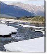 Winding River Canvas Print
