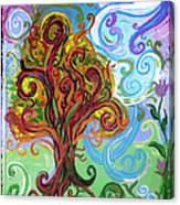 Winding Tree Canvas Print