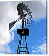 Windmill And Sky Canvas Print