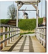 Windmill Bridge Canvas Print