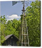 Windmill - Cedar Hill State Park Canvas Print