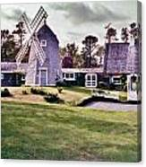 Windmill House Canvas Print