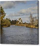 Windmill How Hill Canvas Print
