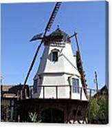 Windmill In Solvang Canvas Print