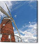 Windmill In The Sky Canvas Print