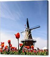 Windmill Island Gardens Canvas Print