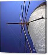 Windmill Masts Canvas Print