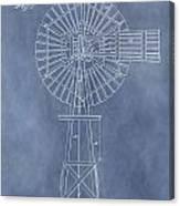 Windmill Patent Canvas Print