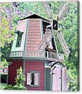 Windmill - Photopower 1555 Canvas Print