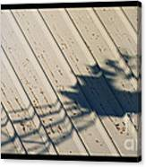 Windmill Shadows Canvas Print