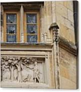 Window And Relief Palace Ducal Canvas Print