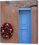 Window And Ristra Canvas Print